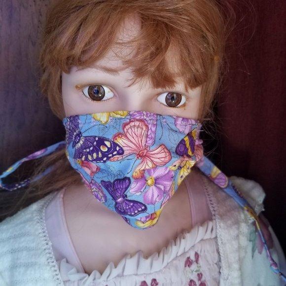 Kid Size Mask w/ Silver/Copper Filters-Butterfly